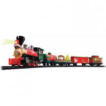 Battery Operated Wireless Remote Control North Pole Express Christmas Train Set