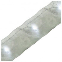 9 ft. Battery Operated LED Wedding Pearl Ribbon