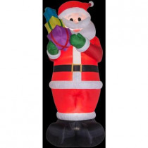 16 ft. H Inflatable Colossal Santa with Gifts