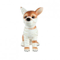 12 in. Mummy Chihuahua Statue