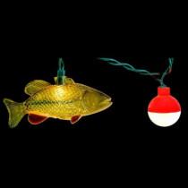 10-Light String of Fish Novelty Light Set