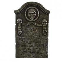 Skull and Crossbones Tombstone