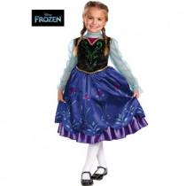 Girls Frozen Anna Deluxe Costume