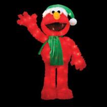32 in. Pre-Lit Sesame Street Elmo