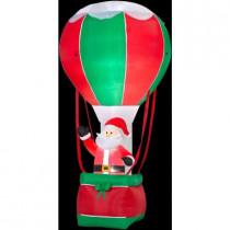 12 ft. H Inflatable Santa in Hot Air Balloon