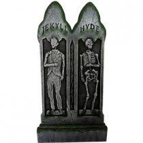 36 in. x 17 in. Jekyll and Hyde Gravestone