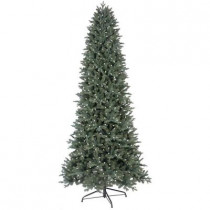 9 ft. Just Cut Deluxe Aspen Fir Artificial Christmas Tree with 700 Color Choice LED Lights