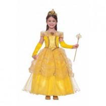 Child Golden Princess Costume