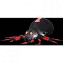 4.3 ft. Inflatable Black Spider