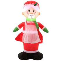5 ft. H Inflatable Mrs. Claus