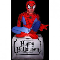 3.5 ft. Inflatable Halloween Spider-Man