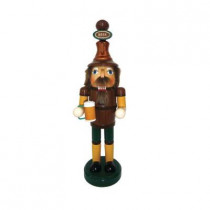 14 in. Beer Miester Nutcracker with Mug