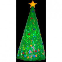 8 ft. H Inflatable Projection Kaleidoscope Christmas Tree