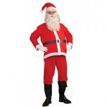 Disposable Adult Santa Clause Costume