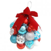 10 in. North Pole Shatter-Resistant Ornament Kissing Ball