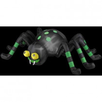 2.6 ft. Inflatable Animated Spider