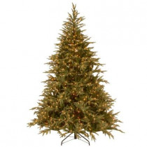 7.5 ft. FEEL-REAL Fraser Grande Artificial Christmas Tree with 1000 Clear Lights