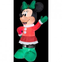 5.5 ft. H Inflatable Holiday Minnie