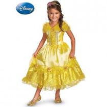 Belle Sparkle Deluxe Kid Costume