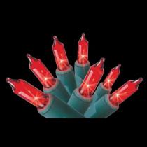 100-Light Red Mini Light Set