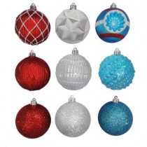 3 in. North Pole Shatter-Resistant Ornament (75-Pack)