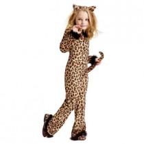 Girls Pretty Leopard Child Costume