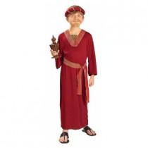 Boy's Burgundy Wiseman Costume