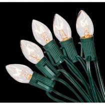 C7 25-Light Clear Color Incandescent Light String