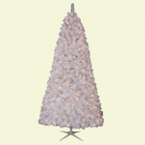 7.5 ft. Cluster White Pine Artificial Christmas Tree with 600 Clear Lights