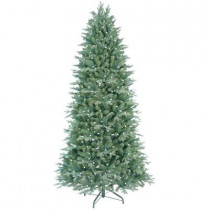 7.5 ft. Just Cut Deluxe Aspen Fir Artificial Christmas Tree with 500 Color Choice LED Lights