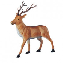 46 in. Brown Reindeer Statue