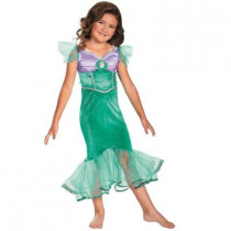 Girls Disney Ariel Sparkle Classic Costume