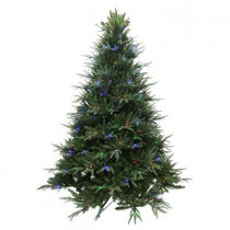 9 ft. Splendor Spruce EZ Power Artificial Christmas Tree with 780 42-Function LED Lights and Remote Control