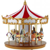 12 in. Animated Grand Carousel