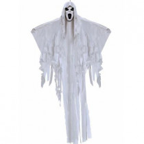 6 ft. Classic Face Hanging Ghost Prop