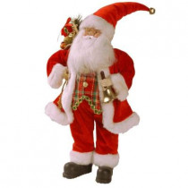 Plush Collection 18 in. Traditional Santa