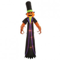 61.02 in. W x 45.28 in. D x 144 in. H Inflatable Airblown Pumpkin Scrooge