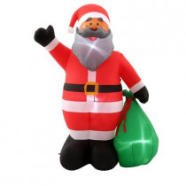 6.5 ft. H Inflatable Santa with Gift Sack