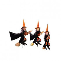 Group of Spooky Witch Lawn Props (3-Count)
