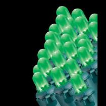 100-Light LED Green Dome Light Set