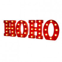9 in. H Marquee HOHO Sign