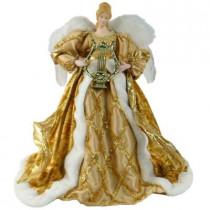 16 in. Gold Angel Figurine