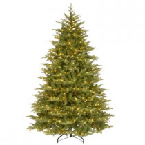 7.5 ft. Nordic Spruce Medium Artificial Christmas Tree with Clear Lights