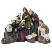 17 in. H Nativity Scene
