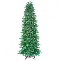 7.5 ft. Just Cut Aspen Fir Artificial Christmas Tree with 800 Clear Lights