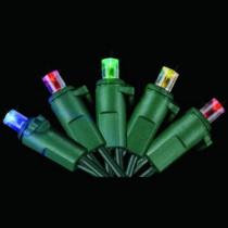 60-Light LED Multicolor Dome Light Set