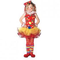 Girls Circus Clown Child Costume