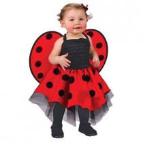 Lady Bug Newborn Infant Costume
