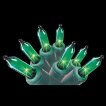 100-Light Green Mini Light Set