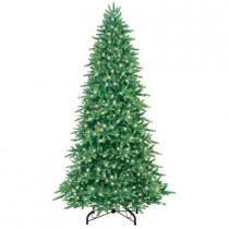 9 ft. Just Cut Fraser Fir EZ Light Artificial Christmas Tree with 900 Clear Lights